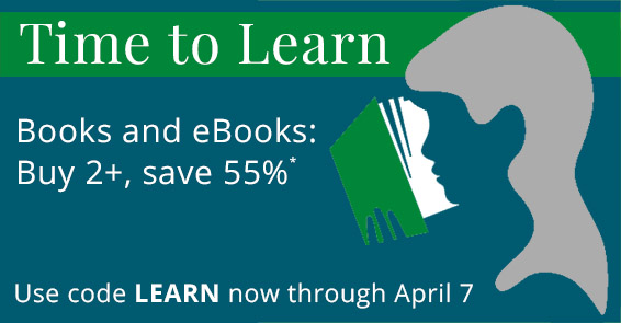 Buy 2, Save 55% in the Time to Learn Sale from Pearson IT Certification