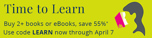 Time to Learn: Buy 2, Save 55% on books and eBooks from InformIT