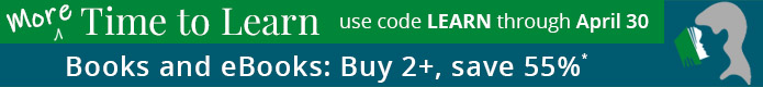Buy 2, Save 55% on Books and eBooks* in the More Time to Learn Sale from Pearson IT Certification