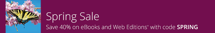 Save 40% on eBooks and Web Editions from Adobe Press with discount code SPRING, now through April 27