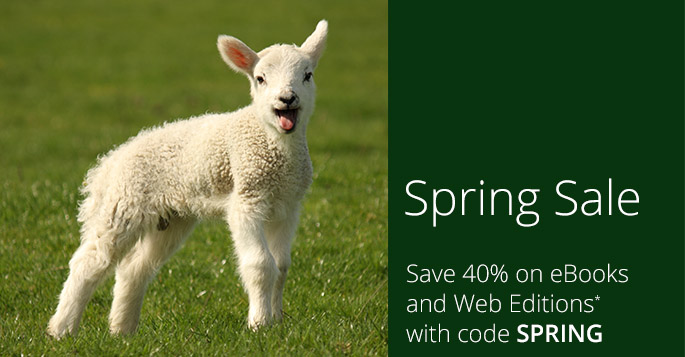 Save 40% on eBooks and Web Editionswith code SPRING, now through April 27