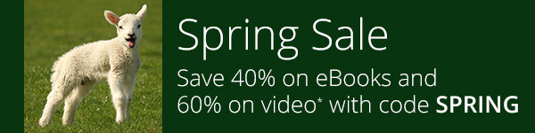 Save 40% on eBooks and 60% on video training* from InformIT with discount code SPRING, now through April 27