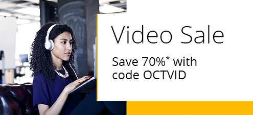 Video Sale: Save 70% on full-course video training from InformIT