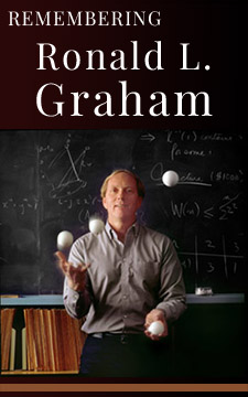 The Legacy of Ronald L. Graham, author of Concrete Mathematics