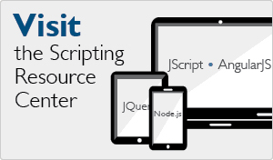 Scripting Resource Center