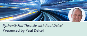 O'Reilly Online Learning Live Online Training: Python Full Throttle with Paul Deitel