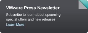 VMware Press Newsletter on Pearson IT Certification