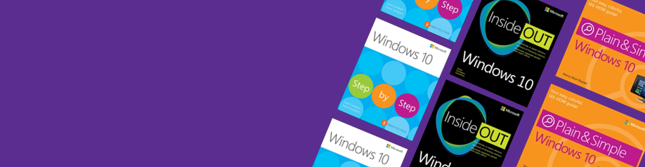 Save 30% on Windows 10 books & eBooks