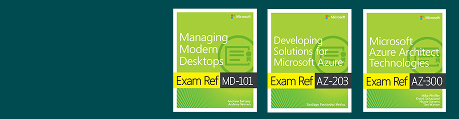 Official Microsoft Exam Ref series