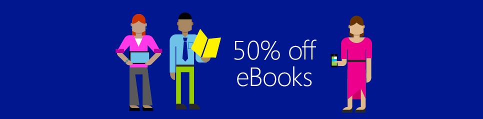 Save 55% on all eBooks