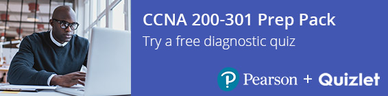 CCNA 200-301 Prep Pack from Pearson and Quizlet