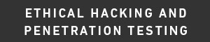 Ethical Hacking and Penetration Testing Certificate