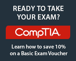 Save 10% on CompTIA A+ Exam Voucher