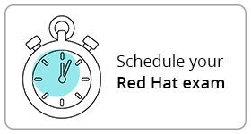 Schedule your Red Hat exam