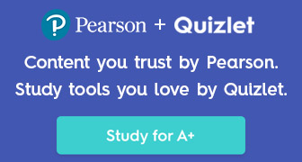 Content you trust by Pearson. Study tools you love by Quizlet. Study for A+