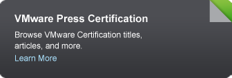 VMware Press Certification Titles